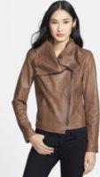 Elie Tahari Melanie Leather Jacket
