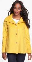 Ellen Tracy Snap Front Wool Blend A-Line Coat (Online Only) 8
