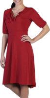 Ex Officio Go-To Ruffle 1/2 Sleeve Dress
