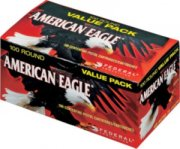 Federal American Eagle Handgun Ammo Per 100