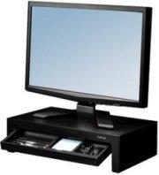 Fellowes Designer Suites Monitor Riser Black/Pearl