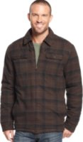 Field and Stream Plaid Reversible Flannel Shirt Jacket