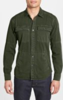 Field Scout Shacket Washed Cotton Shirt Jacket Medium