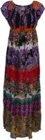 Forbidden Floral Cap Sleeve Sun Dress