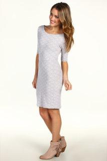 Free People Diamond Texture Knit Dress