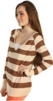 Free People Rugby Stripe Pullover