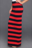 Free People Printed Column Skirt