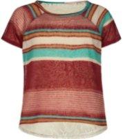 Full Tilt Stripe Crochet Back Top