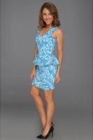 Gabriella Rocha Amedee Jacquard Print Dress