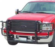 Go Industries The Rancher Black Powder-Coat Grille Guard