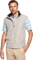 Greg Norman for Tasso Elba Big and Tall Fleece-Lined Golf Vest