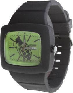 Grenade Flare Watch Black/Green