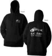Grundens Eat Fish 1//4 Zip Sweatshirt