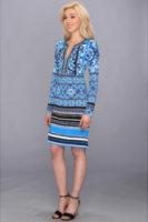 Hale Bob Ancient Cities L/S Dress