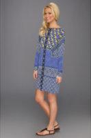 Hale Bob Long Sleeve Boatneck Dress