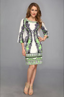 Hale Bob Modern Arabesque 3/4 Dress
