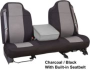 Hatchie Bottom Fabric-Backed Neoprene Universal-Fit Seat Covers for Bench Bottom Bucket Back Seats