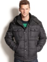 Hawke & Co. Outfitter Black Label Grant Mixed Media Quilted Jacket