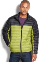 Hawke & Co. Outfitter Lightweight Packable Colorblocked Down Jacket