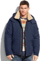 Hawke & Co. Outfitter Voyager Sherpa-Lined Quilted Performance Coat