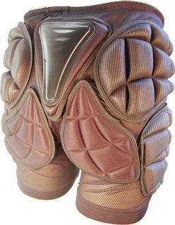 Hillbilly Dirt Gear Padded Impact Shorts