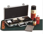 Hoppe's Deluxe Gun Cleaning Accessory Kit in Aluminum Case for Calibers .22 to 12 ga. Shotgun