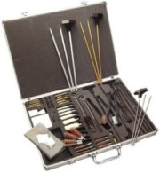 Hoppe's Premium Gun Cleaning Kit in Aluminum Briefcase Style Carrying Case for Calibers .17 to 12 ga. Shotguns.