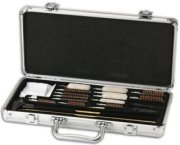 Hoppe's Universal Gun Cleaning Accessory Kit in Aluminum Case for Calibers .22 to 12 ga. Shotgun