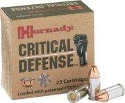 Hornady Critical Defense Handgun Ammo