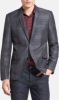 HUGO by Hugo Boss Adris Extra Trim Fit Plaid Sportcoat 36R