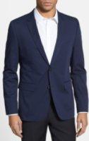 HUGO by Hugo Boss Aeris Extra Trim Fit Stretch Cotton Blazer