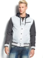 Hurley Rook Snap Front Hooded Jacket