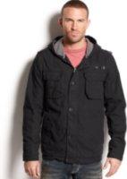 Hurley Zip Front Hooded Jacket