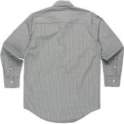 Ike Behar L/S Micro Plaid Woven Sport Shirt