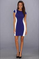 Ivy & Blu Maggy Boutique Cap Sleeve Colorblock Sheath Dress