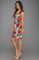 Ivy & Blu Maggy Boutique Side Ruched Sheath Dress