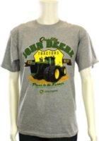 J. America Sportswear Short Sleeve  Power to The Farmers  T-Shirt