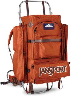 jansport d2 external frame pack - External Frame Backpacks