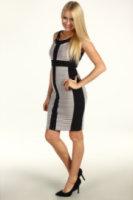 Jax Colorblock S/L Dress