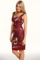 Jax Satin Printed Dress