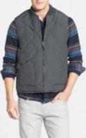 Jeremiah Quilted Reversible Work Wear Vest Medium