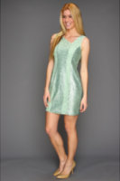 Jessica Simpson Sleeveless Asymmetrical Dress w/ Sequins