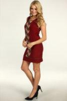 Jessica Simpson Sleeveless Contrast Panel Dress