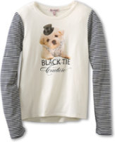 Juicy Couture Black Tie Couture Tee