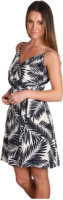 Juicy Couture Easy Summer Palm Leaves Dress