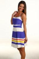 Juicy Couture Fiji Stripe Strappy Dress