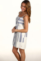 Juicy Couture Stripe Linen Track Dress