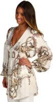 Just Cavalli Floral Silk Top