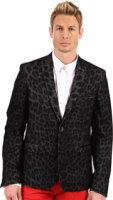 Just Cavalli Leopard Effect Dinner Jacket