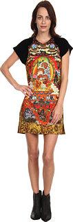 Just Cavalli Mandala Print Dress